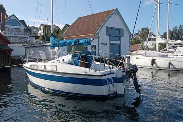 Glassfiber båt